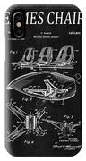 Eames Chair Patent 4 IPhone Case