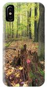 Early Autumn Woods IPhone Case