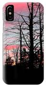 Early Fall Sky Vi IPhone Case