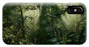 Early Morning Light In The Rain Forest IPhone Case