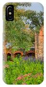 Early Morning Sun Caressing Mission Espada IPhone Case