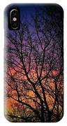 Early Spring Dusk  IPhone Case