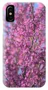 Early Spring Flowering Redbud Tree IPhone Case