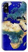 Earth From Space Europe And Africa IPhone Case