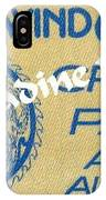 Earth Wind Fire Crew Pass 1976 IPhone Case