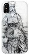 East Asian Woman IPhone Case