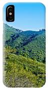 East Peak Of Mount Tamalpias-california IPhone Case