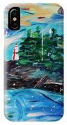 Campobello Lighthouse Abstract IPhone Case