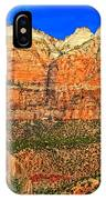 East Temple IPhone Case