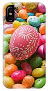 Easter Egg And Jellybeans  IPhone Case