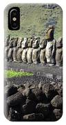 Easter Island 4 IPhone Case