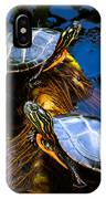 Eastern Painted Turtles IPhone Case