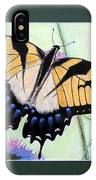 Eastern Tiger Swallowtail Butterfly By George Wood IPhone Case
