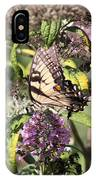 Eastern Tiger Swallowtail - Butterfly IPhone Case