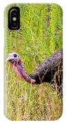 Eastern Wild Turkey - Longbeard IPhone Case