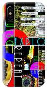 Eat Drink Explore Repeat 20140713 Vertical IPhone Case
