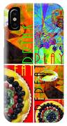 Eat Drink Play Repeat 20140705 IPhone Case