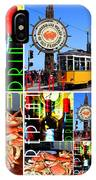 Eat Drink Play Repeat San Francisco 20140713 Vertical V2 IPhone Case