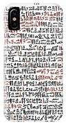 Ebers Papyrus, C1550 B.c IPhone Case