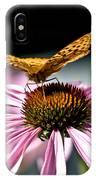 Echinacea And Friend IPhone Case