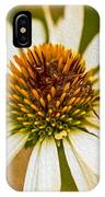 Echinacea Fading Beauty IPhone Case