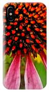 Echinacea Flower Upclose Filtered IPhone Case