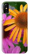 Echinacea Mango Meadowbrite IPhone Case