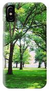 Edgewater Park Forest IPhone Case