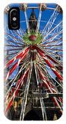 Edinburgh's Christmas Ferris Wheel IPhone X Case