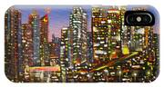 Edmonton Night Lights IPhone Case