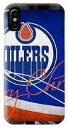 Edmonton Oilers Christmas IPhone Case