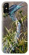 Egret Statue IPhone Case