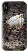 Egret Strut IPhone Case
