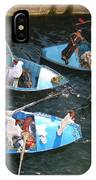 Egyptian Entrepreneurs At The Canal Locks IPhone Case