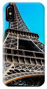 Eiffel In Spring IPhone Case