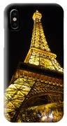 Eiffel Night IPhone Case