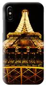 Eiffel Tower By Night IPhone Case
