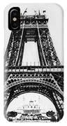 Eiffel Tower Construction IPhone Case