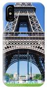 Eiffel Tower Lower Part Paris IPhone Case