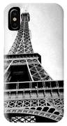 Eiffel Tower Up Close 3 IPhone Case