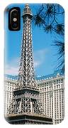 Eiffl Tower Vegas IPhone Case