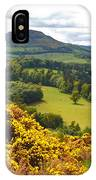 Eildon Hill - Three Peaks And A Valley IPhone Case