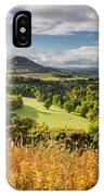 Eildon Hills In Autumn IPhone Case