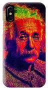 Einstein - Pop Art IPhone Case