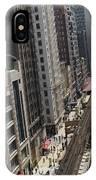 Chicago Loop Train Tracks  IPhone Case