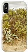Elafonisi Bushes IPhone Case