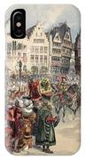 Election To The Empire The Procession IPhone Case
