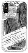 Electric Brushes, 1882 IPhone Case