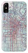 Electric Car And Bus Routes In La  IPhone Case