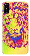 Electric Lion IPhone Case